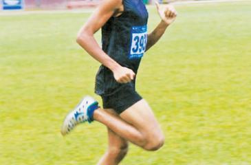 Kavindu Rashmika in action