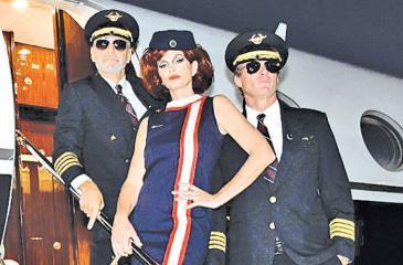 George Clooney, Rande Gerber and Cindy Crawford dressed for Halloween