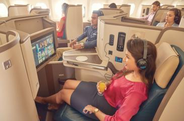 SriLankan Airlines' A330-300 aircraft provide an enjoyable flying experience