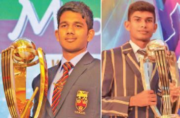 Hasitha Boyagoda   Schoolboy Cricketer 2018-Sachin Silva  Most Popular Schoolboy Cricketer 2018