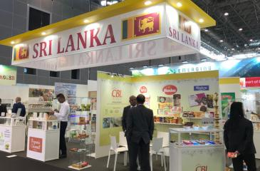The Sri Lanka pavilion