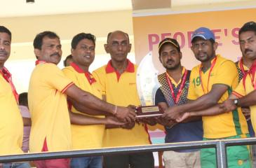 Matale Regional Branch - Cricket champions