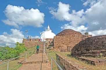 ENDURING BEAUTY: The restored dagoba at Maha Situlpahuwa
