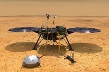 NASA lander survives harrowing descent to the surface of Mars