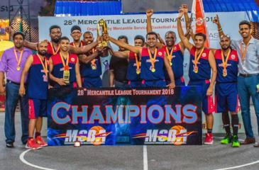 The Akbar Brothers team (from left): Manoj (coach), Sanketh, June, Dimithn, Aadrian, Jeewan, Thushara, Nirmal, Selvam, Frank, Ayesh and Praneeth (coach)