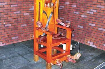 The electric chair has gradually been replaced as the main method of execution