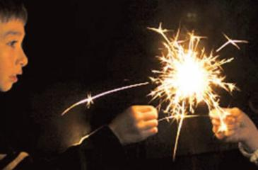 Only persons over the age of 12 should be allowed to handle sparklers of any type.