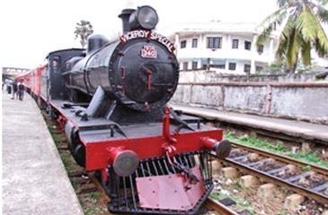 Steam engine, The Yakada Yaka! (Pic courtesy: J.F. Tours and Travels (Pvt) Ltd.
