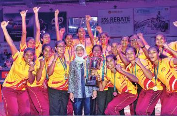 Flashback: The Asian champions team comprising Chathurangi Jayasooriya, Darshika Abeywickrama, Dulangi Wannithilake, Tharjini Sivalingam, Elilenthini Sethukavalar, Gayanjali Amarawansa, Hasitha Mendis, Dulanga Dhananji, Darshika Abeywickrama, Thilini Waththegedara, Sureka Kumari Gamage and Gayani Dissanayake