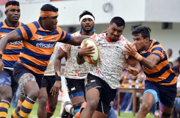 File photo of a rugby match between Army and CH and FC