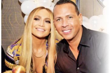 Jennifer Lopez with boyfriend Alex Rodriguez