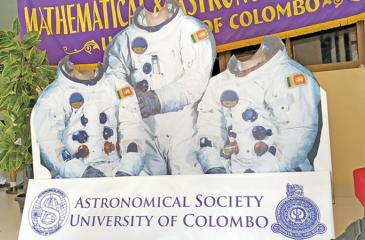 The Space Exhibition at University of Colombo, Faculty of Science