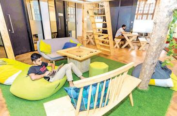 Sri Lanka's largest co-working office space, business incubator and accelerator designed for start-ups.