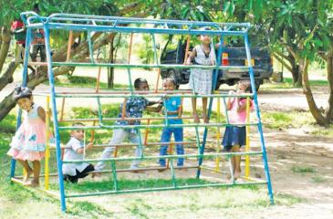This year, the daycare facility was extended to include primary school children.