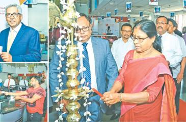 Representatives of Fairfirst and the Postal Department at the launch at the Postal Headquarters in Colombo.