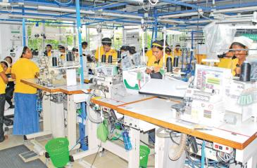 The Sri Lankan textile and apparel industry employs nearly 350,000 workers directly and twice as many indirectly. File pic: Lake House Media Library