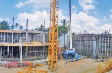 Serenia Residences under construction.