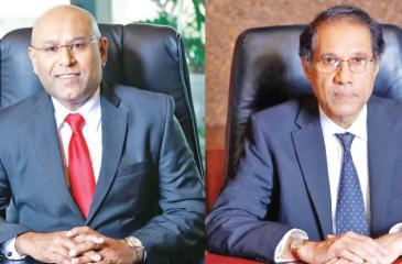 CEO Dimantha Seneviratne and Chairman Ananda W. Atukorala