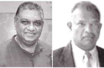 Shavindra Fernando and Shani Abeysekera