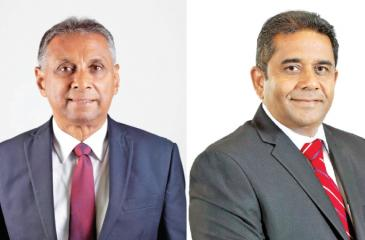 Chairman Ravi Dias and CEO Kapila Ariyaratne