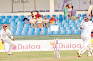 Action at the Battle of the Maroons Pic by Saman Mendis