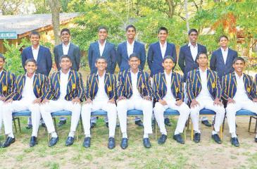 Royal  College squad: Kavindu Madarasinha (captain), Thevindu Senaratne,  Pasindu Sooriyabandara, Manula Perera, Ahan Wickckramasinghe, Bhagya  Dissanayake, Kamil Mishara, Dimal Karunaratne, Kavindu Pathiratne,  Lahiru Madushanka, Ishiwara Dissanayake, Gishan Balasooriya, Dasis  Manchanayake, Thithira Weerasinha, Kaushan Kulasooriya, Tharusha Rukshan,  Shehan Herath, Jehan Mubarak (coach)