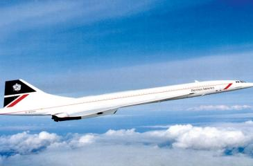The Concorde flew commercially for the last time in 2000