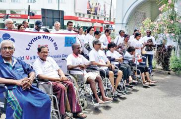 Wheelchair access to public spaces, places of worship or even hospitals is not widely available