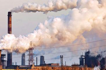 A coal-power plant
