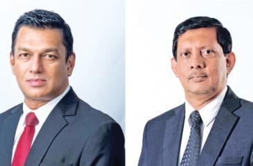 CEO Mahesh Wijewardena and Director Kumar Samarasinghe