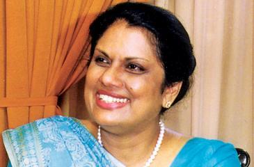 Chairperson of Bandaranaike National Memorial Foundation – Former President Chandrika Bandaranaike Kumaratunga