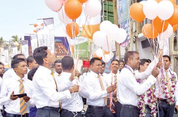 The opening of the Union Assurance Galle Regional Office.
