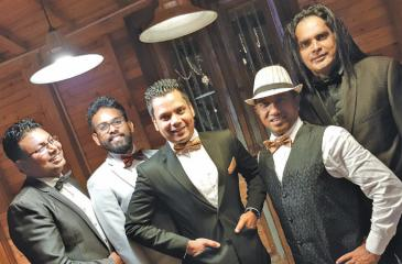 Anno Domini (from left) Shakila Ganegama - keyboards,vocals; Suneth Lakmal – bass, vocals; Shehan Perera - leader, vocals, guitar, drums; Senaka Pereira - drums, percussion,vocals; Mangala Weerasekara - lead guitar, vocals