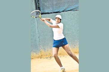 Savini Jayasuriya won one set was unfortunate to lose