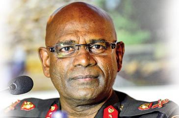 Army Commander Mahesh Senanayake (AFP)