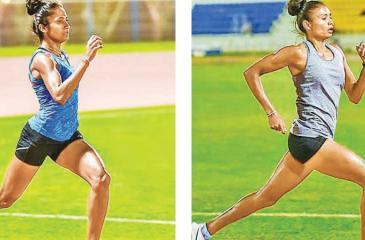 Gayanthika Abeyratna and Nimali Liyanarachchi two 800m athletes not up to expectations at the Asian Championships