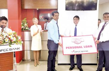 Granting of the first personal loan.