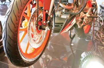 The KTM Duke 125
