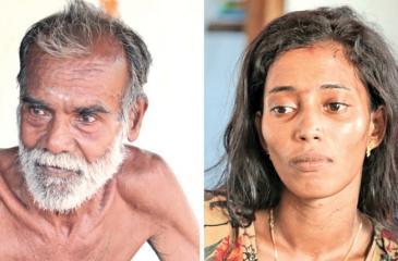 Didambarapullai Sinnathurai and Sivakumar Karthiyar   Pic : Shan Rambukwelle