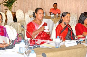 At the final sessions last Friday (Pic: Ranjith Asanka)