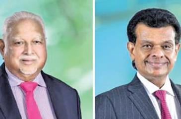 D.H.S. Jayawardena and Dr. Parakrama Dissanayake