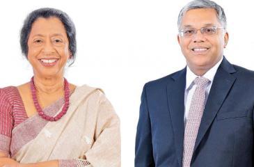 Rose Cooray and Deepthi Lokuarachchi