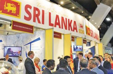 The Sri Lanka stall
