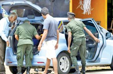 Some 3,000 military personnel were deployed in and around Colombo as well as other key towns for cordon-and-search activities