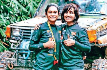 Ashvitha and Maryse