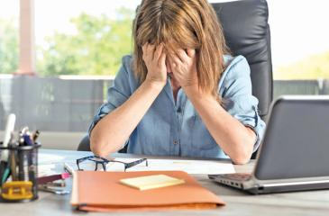 Workplace stress is a condition that many people try to hide even from themselves