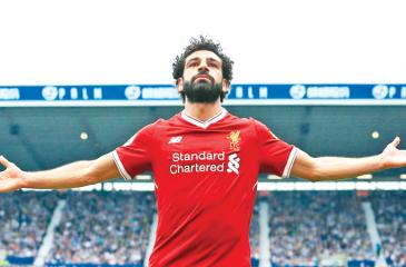 Mo Salah: a goal machine for the Merseyside club leading them to the Champions League glory last week. Pic courtesy Internet
