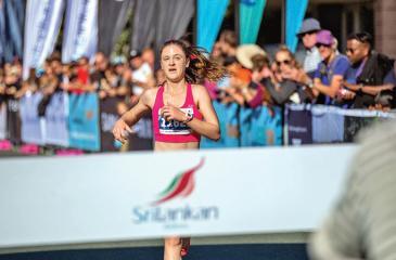 Winner, female category, Rachel Waters