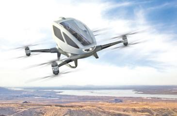 A flying taxi