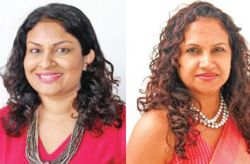 CFO Chamika Colonne and CEO Sheron Jayasundara